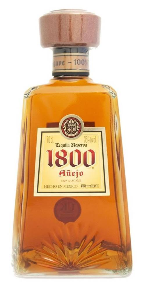 1800 Tequila 1800 Tequila Anejo 38% 0,7l