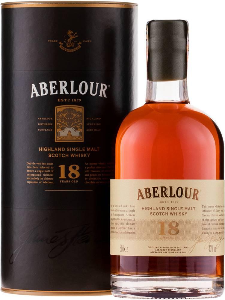 Aberlour Aberlour 18 ročná 0,5l 43%