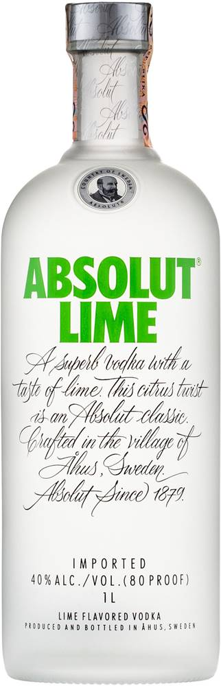 Absolut Absolut Lime 1l 40%