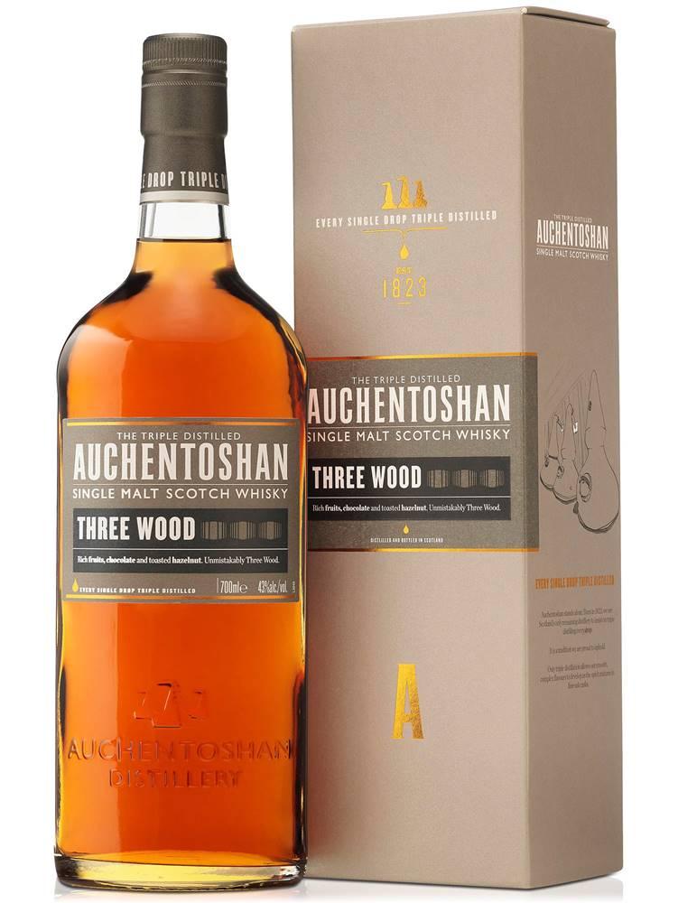 Auchentoshan Auchentoshan Three Wood 43% 0,7l