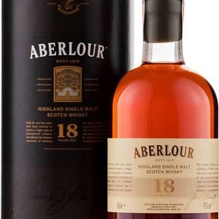 Aberlour 18 ročná 0,5l 43%