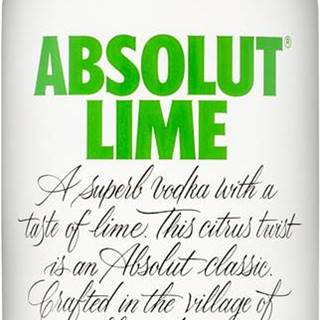 Absolut Lime 1l 40%