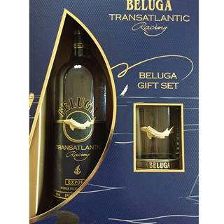 Beluga Transatlantic Racing s 1 pohárom 40% 0,7l