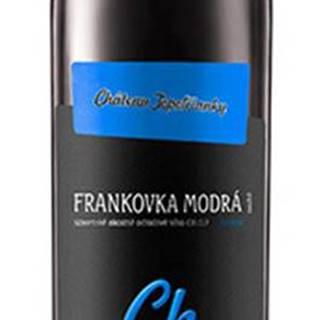 Chateau Topoľčianky Chateau Noir Frankovka modrá 12,5% 0,75l