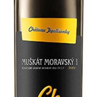 Chateau Topoľčianky Chateau Noir Muškát Moravský 12% 0,75l