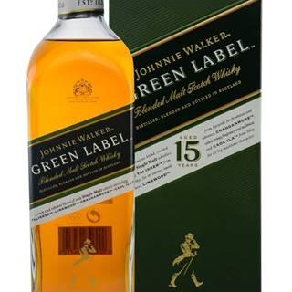 Johnnie Walker Green Label 15 ročná 43% 0,7l