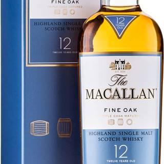 Macallan 12 ročná Triple Cask Matured 40% 0,7l