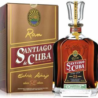 Santiago de Cuba Extra Anejo 25 ročný 40% 0,7l