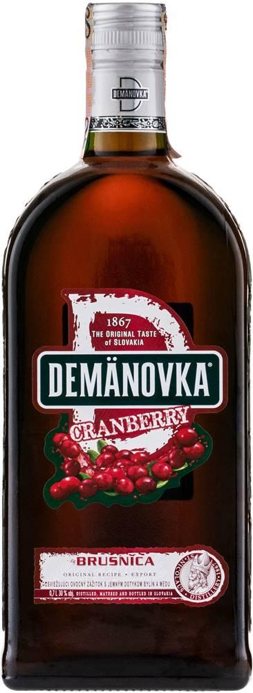 Demänovka Demänovka Cranberry 30% 0,7l