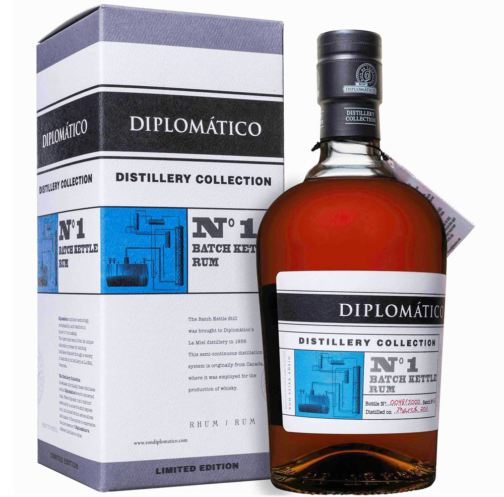 Diplomático Diplomático Distillery Collection No. 1 Batch Kettle 47% 0,7l