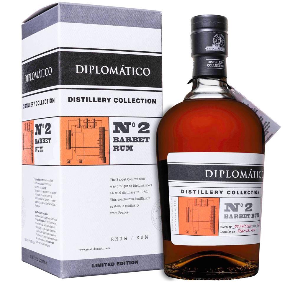 Diplomático Diplomático Distillery Collection No. 2 Barbet Column 47% 0,7l
