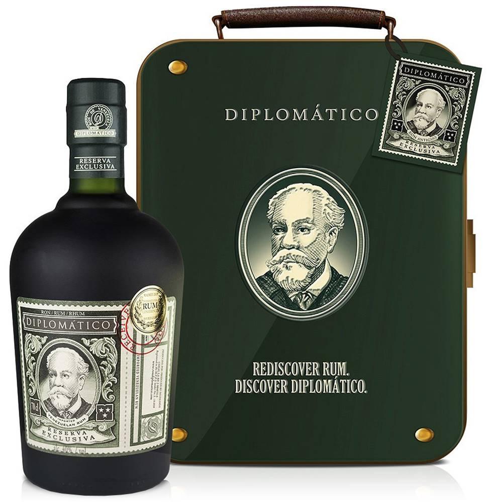Diplomático Diplomático Reserva Exclusiva v kufríku 40% 0,7l