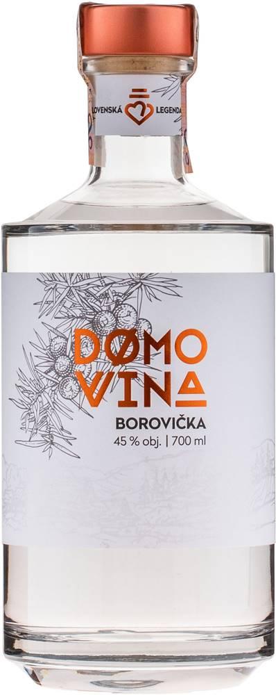 Domovina Domovina Borovička 45% 0,7l