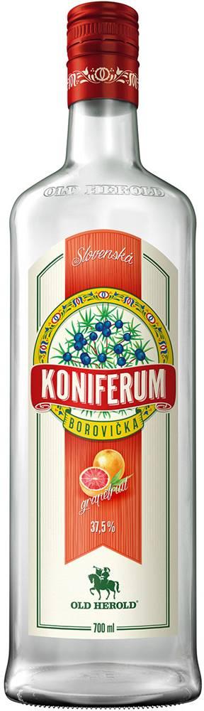 Old Herold Koniferum Borovička s grapefruitom 37,5% 0,7l