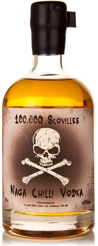 Naga Chilli Vodka Naga Chilli Vodka - 100.000 Scovilles 40% 0,7l
