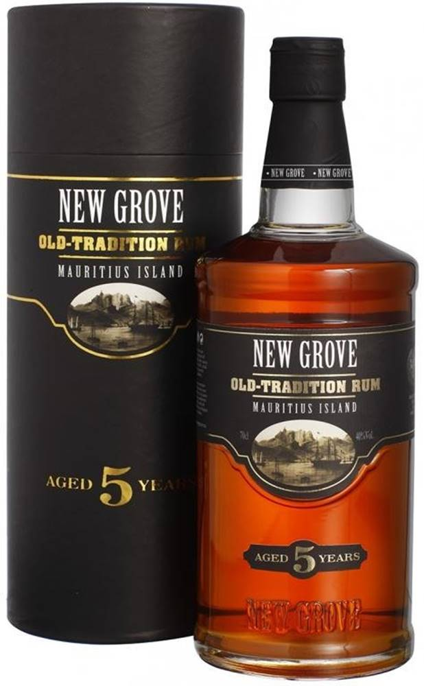 New Grove New Grove Old Tradition 5 ročný 40% 0,7l