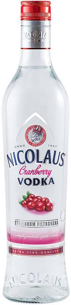 Nicolaus Nicolaus Cranberry Vodka 38% 0,7l