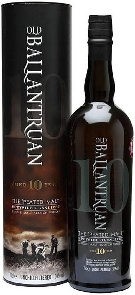 Old Ballantruan Old Ballantruan Peated Unchillfiltered 10 ročná 50% 0,7l