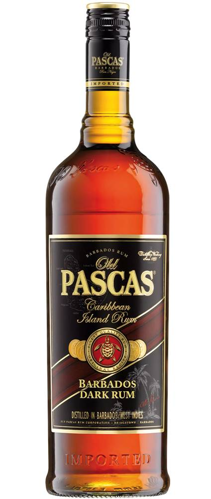 Old Pascas Old Pascas Dark Rum 37,5% 0,7l