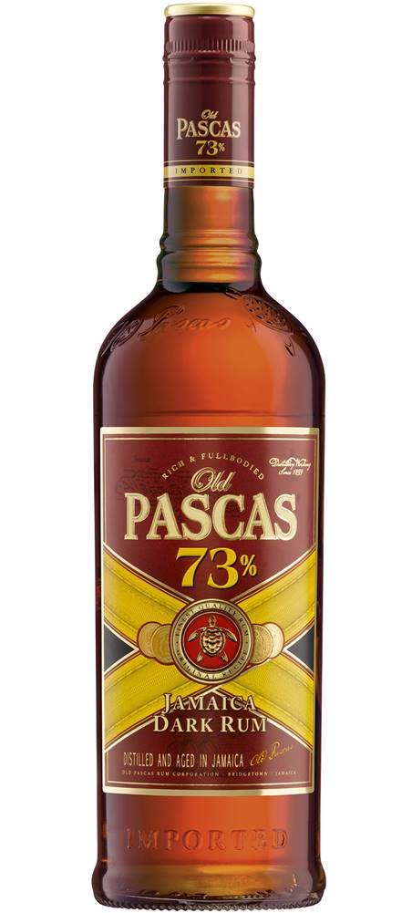 Old Pascas Old Pascas Dark Rum 73% 0,7l