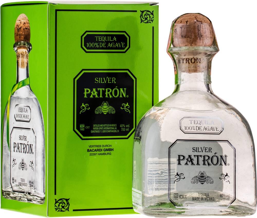 Patrón Patrón Silver 40% 0,7l