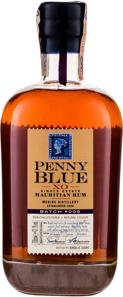 Penny Blue Penny Blue XO Batch 005 43,1% 0,7l