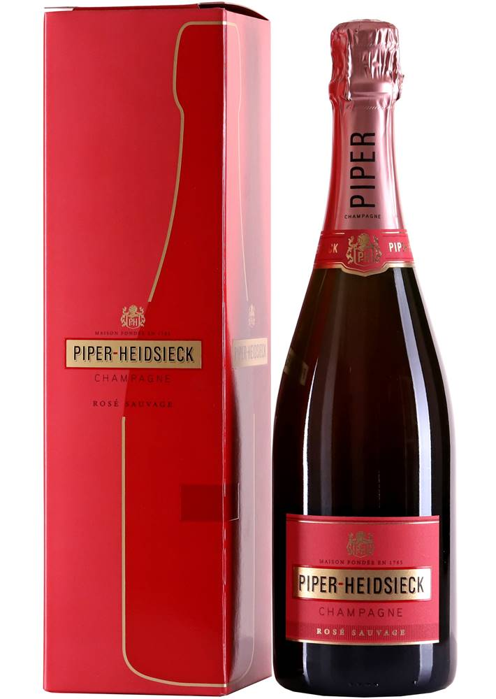 Piper-Heidsieck Piper-Heidsieck Rosé Sauvage 12% 0,75l