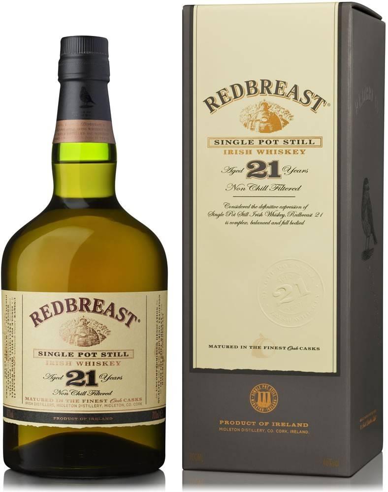 Redbreast Redbreast 21 ročná 46% 0,7l