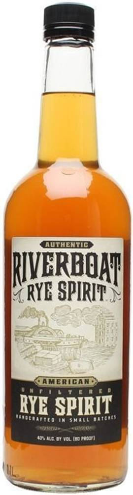 Rémy Martin Riverboat Small Batch Unfiltered Rye 40% 1l