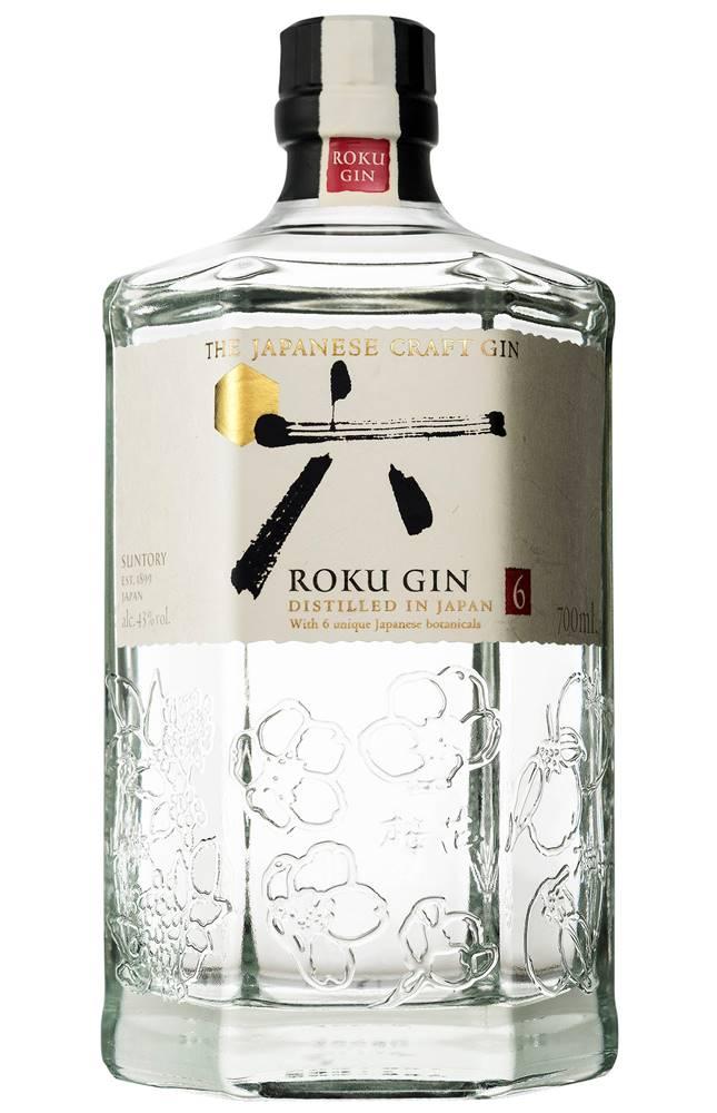 Roku Japanese Craft Gin 43%...