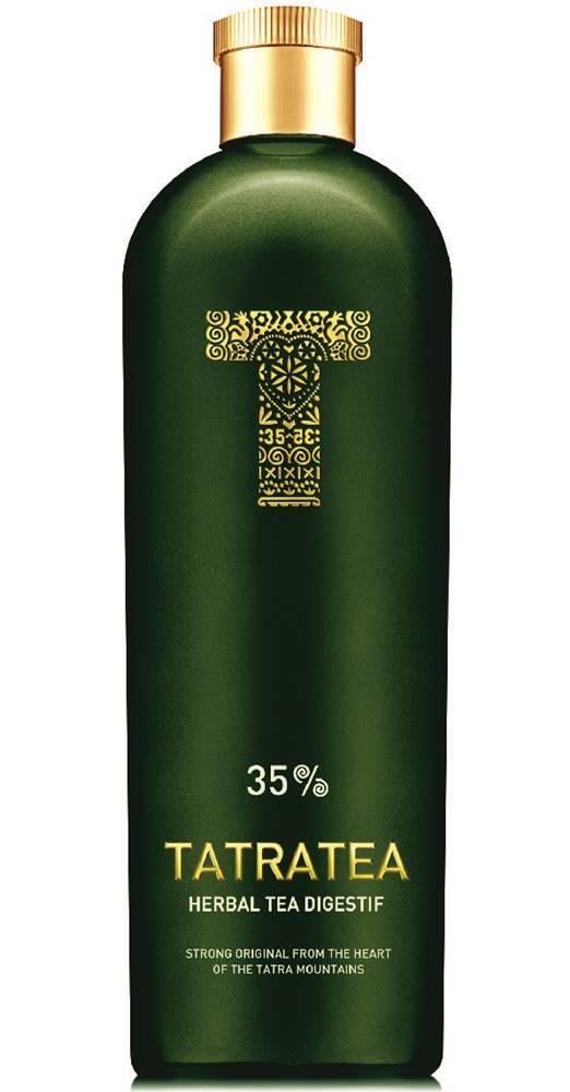 Karloff Tatratea Herbal Tea Digestif 35% 0,7l