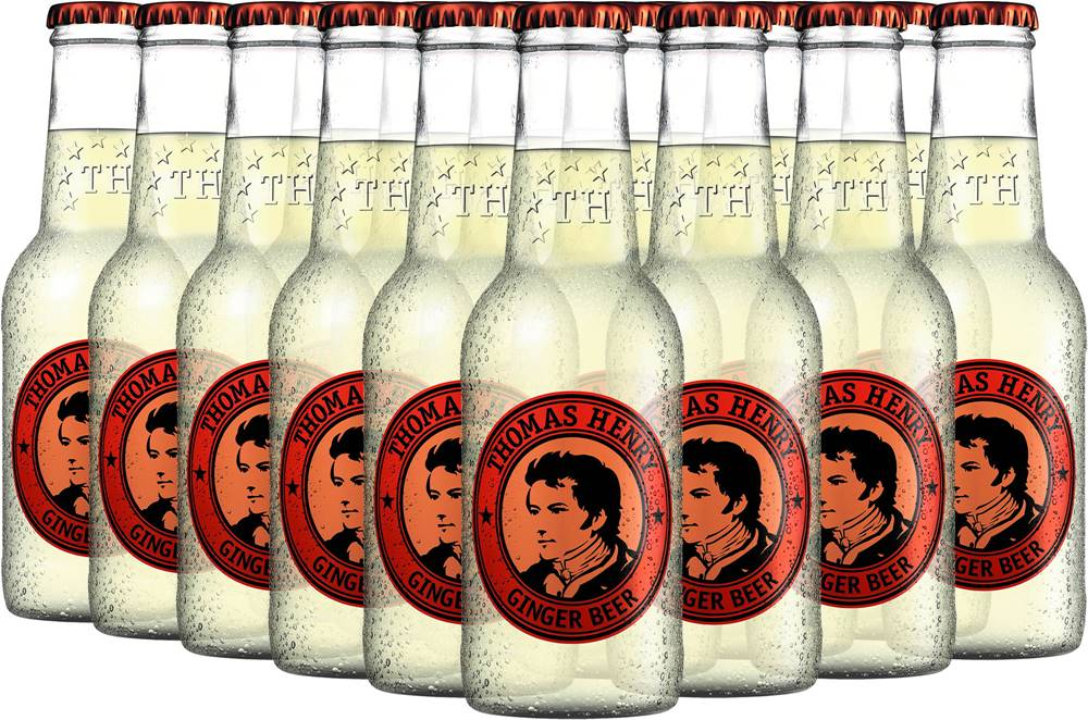 Thomas Henry Thomas Henry Ginger Beer 24x0,2l 4,8l