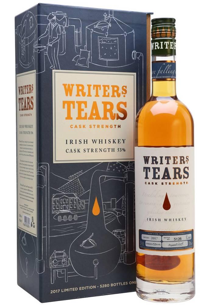 Writers Tears Writers Tears Cask Strength 2017 53% 0,7l