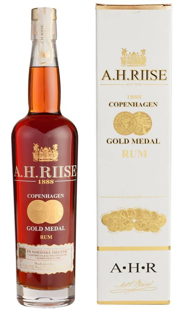 A.H.Riise A.H. Riise 1888 Copenhagen Gold Medal 40% 0,7l