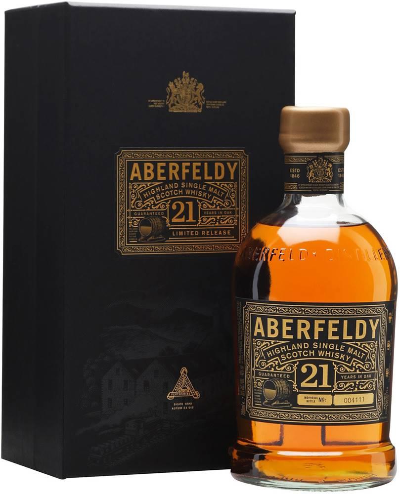 Aberfeldy Aberfeldy 21 ročná 40% 0,7l