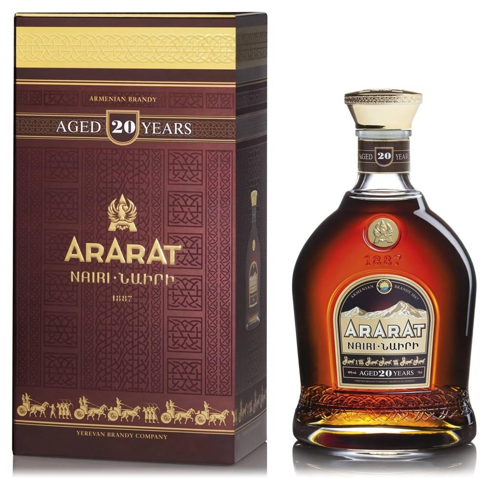 Ararat Ararat 20 ročná 40% 0,7l