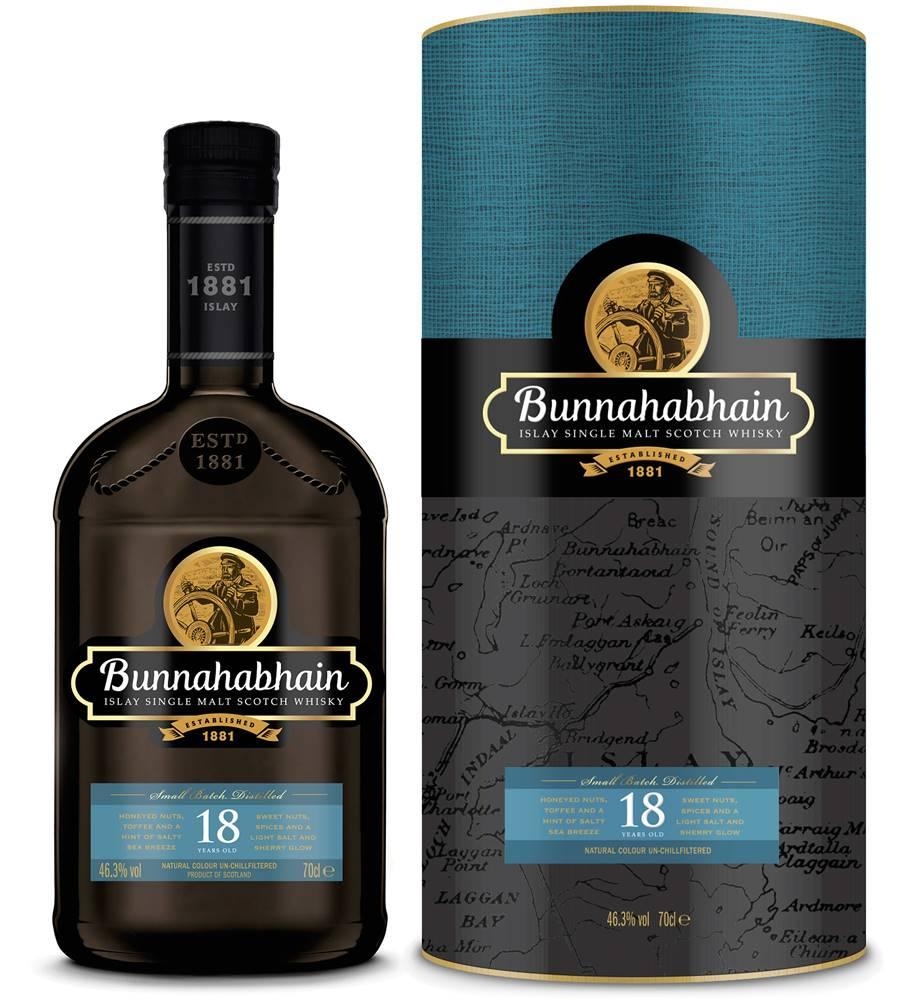 Bunnahabhain Bunnahabhain 18 ročná 46,3% 0,7l