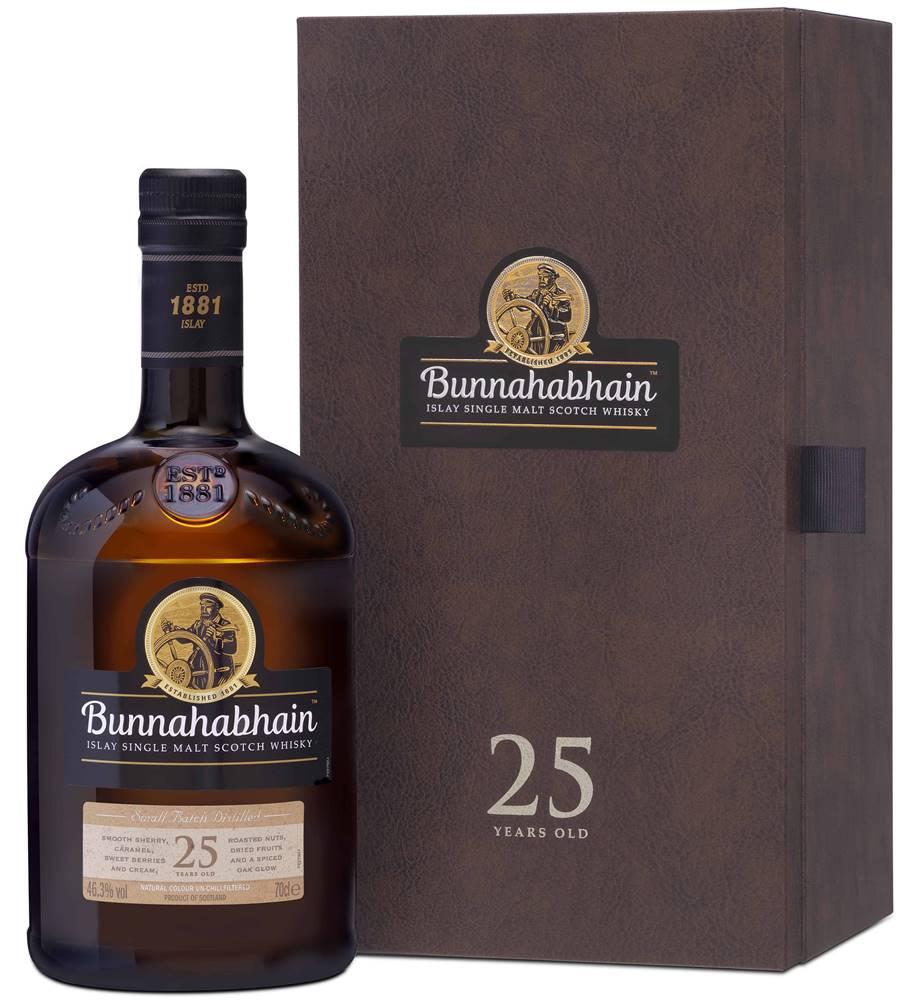 Bunnahabhain Bunnahabhain 25 ročná 46,3% 0,7l