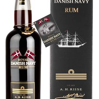 A.H. Riise Royal Danish Navy Rum 40% 0,7l