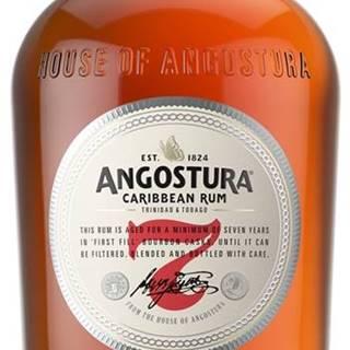 Angostura 7 ročný rum 40% 0,7l