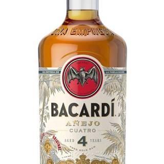 Bacardi Anejo Cuatro 4 ročný 40% 0,7l