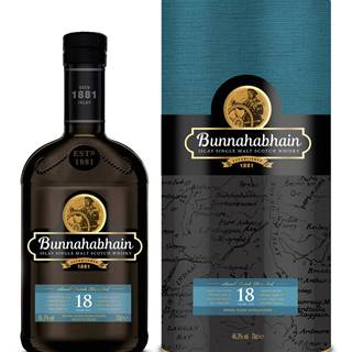 Bunnahabhain 18 ročná 46,3% 0,7l