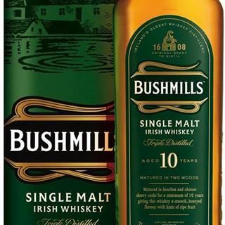 Bushmills 10 ročná 40% 0,7l