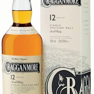 Cragganmore 12 ročná 40% 0,7l