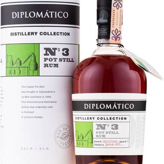 Diplomatico Distillery Collection No.3 Pot Still 47% 0,7l