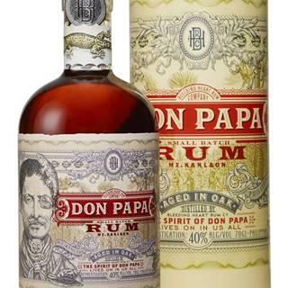 Don Papa v tube 40% 0,7l