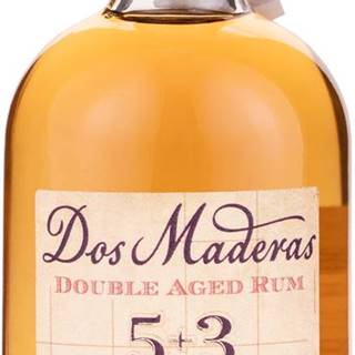 Dos Maderas 5+3 Mini 37,5% 0,05l