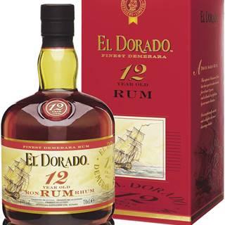 El Dorado 12 ročný 40% 0,7l