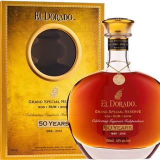 El Dorado Grand Special Reserve 50th Anniversary 43% 0,7l