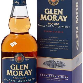 Glen Moray Classic Port Cask Finish 40% 0,7l